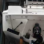 ZIPWAKE 2x450-S montiert an einem Caribbean 24 FBSF
