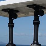 Railblaza drehbare und um 90° schwenkbare Plattform als Filetiertischhalterung.