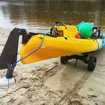 Railblaza C-TUG Transportwagen / Slipwagen für Kayaks und Kanus im Sand