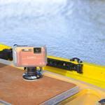 Railblaza Kamera Montageadapter montiert auf einem Kajak mit StarPort