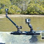 Railblaza Kamera Montage-Kit R-Lock auf einem Angelkajak