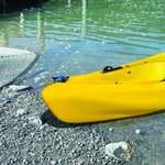 Railblaza Cleatport in schwarz auf Kayak