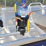 Railblaza Drink Hold Getränkehalter montiert auf einem RailMount