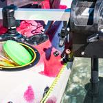 Railblaza Motorhalterung für Kajaks von der Rückseite