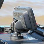 Railblaza Lowrance Hook 2 Adaptor mit Lowrance Echolot auf einem StarPort