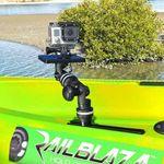 Railblaza MiniPort TracMount mit einer Kamera