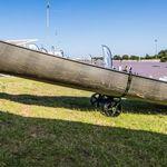 Railblaza C-TUG Transportwagen / Slipwagen für Kayaks und Kanus auf Rasen