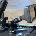 Railblaza dreh- und schwenkbare R-Lock  Verlängerung mit Kartenplotter / GPS