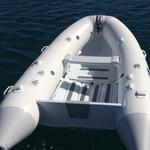 Railblaza RIBPorts in weiß an einem Schlauchboot