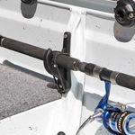 Railblaza Fishing Rod Storage Rack als Angelruten Klemmhalter an der Bordwand