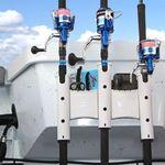 Railblaza RodStow Triple Rutenhalter in weiß