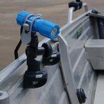 Railblaza Sideport in schwarz mit G-Holder und Taschenlampe