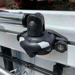 Railblaza SidePort TrackLoader mit Bimini-Halterung