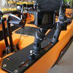 Railblaza StarPort TrackLoader mit Fishfindern
