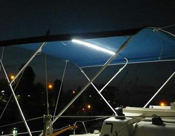 LED Beleuchtung für Bimini-Verdecke