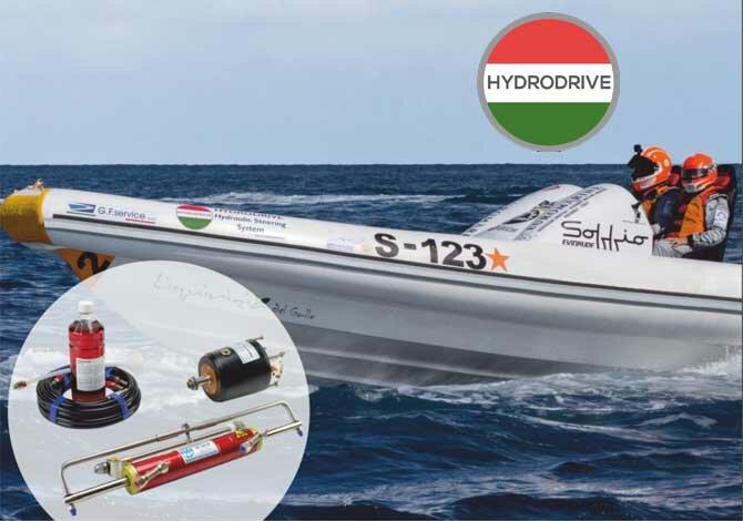 Hydrodrive Bootslenkungen