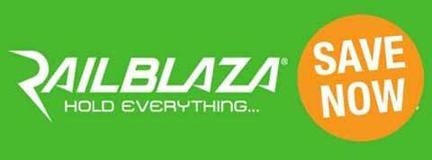 Rabattaktion für Railblaza Artikel
