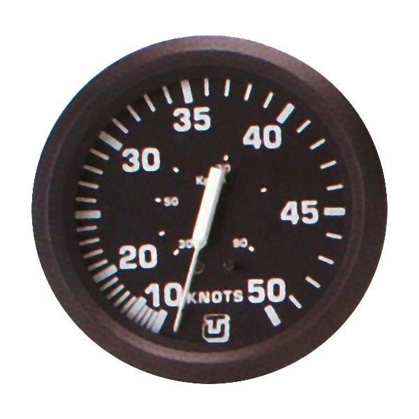Uflex Staudruck-Geschwindigkeitsmesser 0-30 Knoten