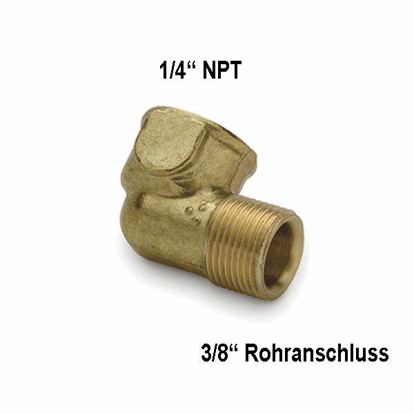 Teleflex Fitting-Kit HF5538 - 90° Winkel Fitting (3er Pack)