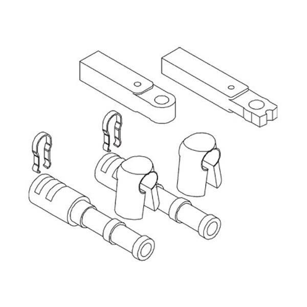 Teleflex Innenbordersatz CA27373 für Mercruiser