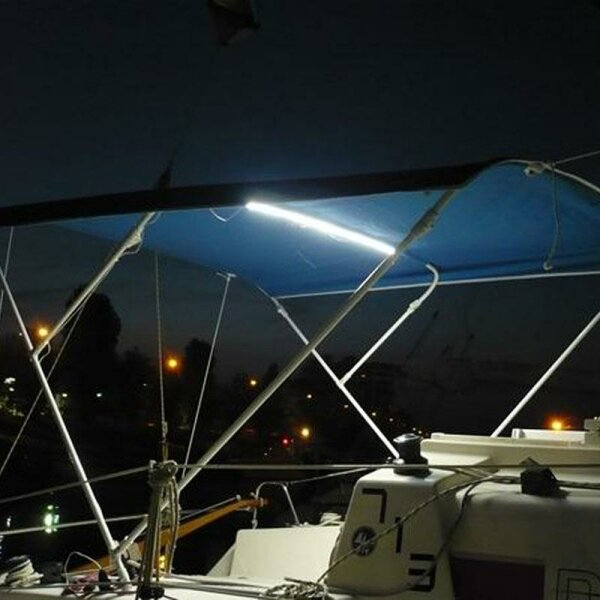 LED Beleuchtung für Bimini-Tops / Sonnenverdecke