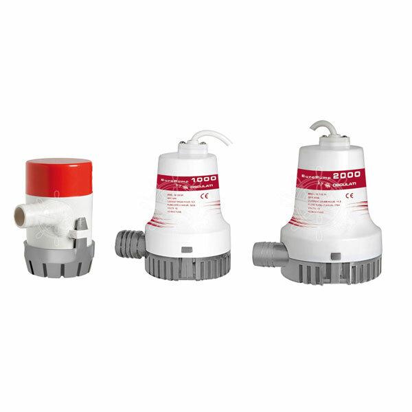 EUROPUMP II Elektro-Zentrifugaltauchpumpen / Bilgenpumpe 800 - 12 Volt