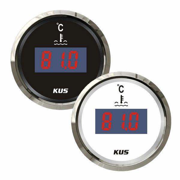 KUS Temperaturanzeige für Motor-Kühlwasser (digital)