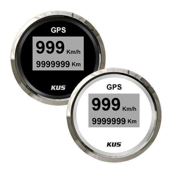 KUS GPS Digital-Speedometer mit Anzeige für Geschwindigkeit und gefahrene Strecke