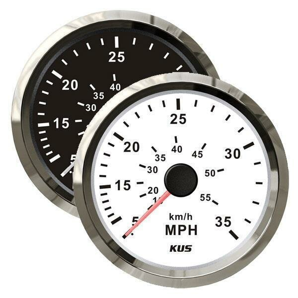 KUS Staudruck Speedometer