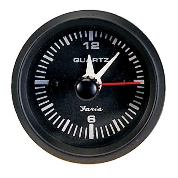 Faria Quarz Uhr in Euro Black 12825