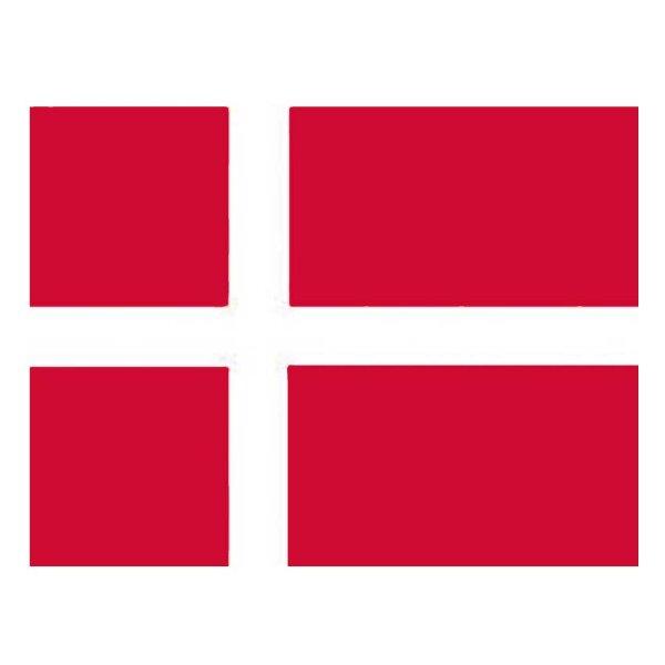 Gastlandflagge / Flagge / Bootsflagge - Dänemark 20x30 cm