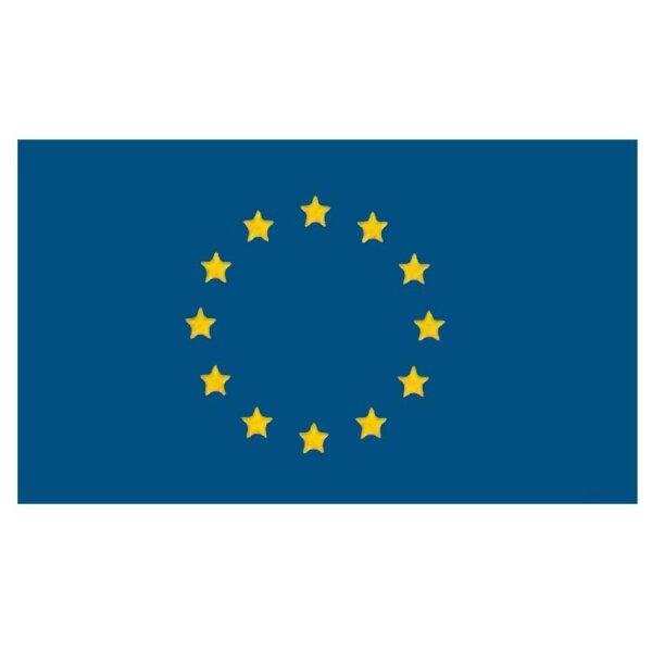 Gastlandflagge / Flagge / Bootsflagge - EU / Europa 20x30 cm