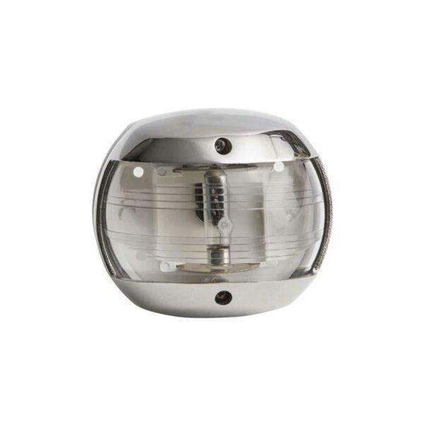 LED Navigationslicht (Hecklicht / weiß) 135° - Edelstahl