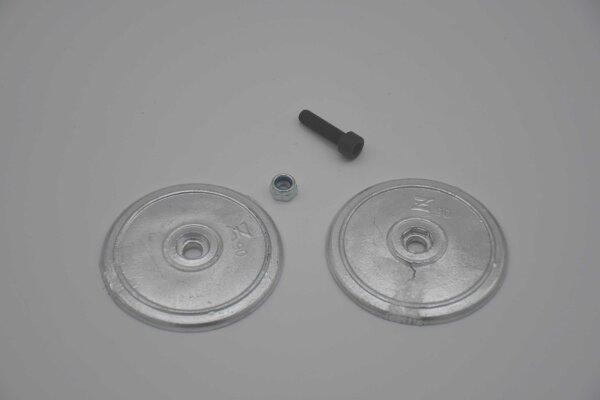 Telleranode / Rumpfanode Z90 (Ø 90mm) - Aluminium