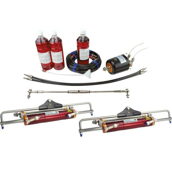 Hydrodrive Hydraulische Lenkung MF350W-TDF für Aussenborder bis 350 PS (Doppelmotor)
